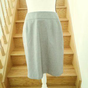 Calvin Klein Gray Pencil Career Skirt Size 10